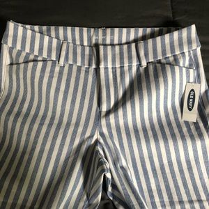 NWT Old Navy striped pants!